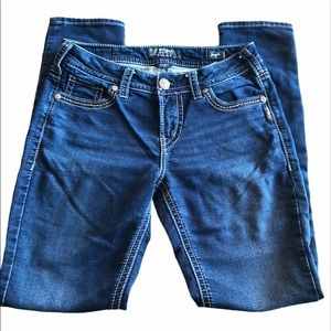 Silver Jeans Suki Mid Pencil Skinny